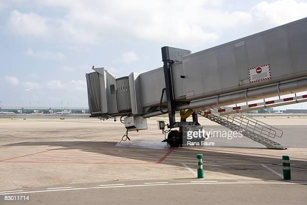 Barcelona airport's tarmac
