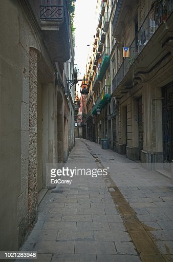 Barcelona Alley : Foto stock
