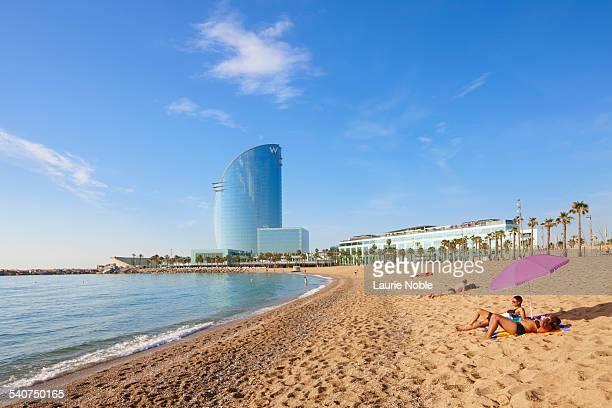 Barcelona Beach, Barcelona, Spain