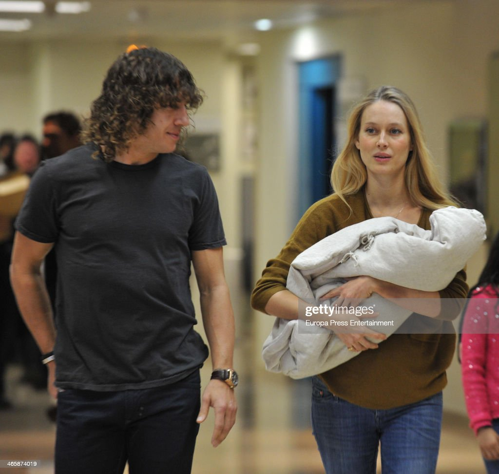 Vanessa Lorenzo and Carlos Puyol Present Their New Born Child in