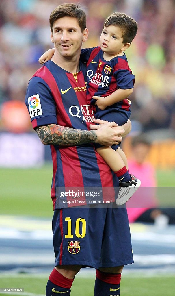 Image result for Messi's Son Signs For Barcelona