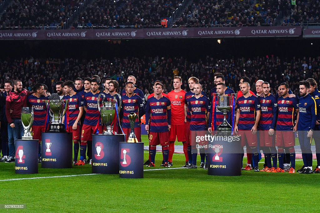 Liga Champion: FC Barcelona V Real Betis Balompie - La Liga