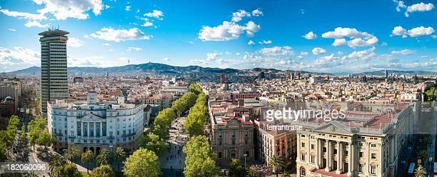 Horizonte de Barcelona