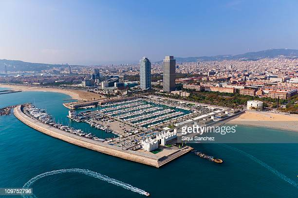 Barcelona water front