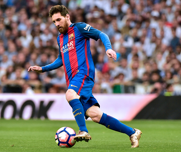 ميسي يتعادل لبرشلونة بالهدف رقم 22 له بالكلاسيكو