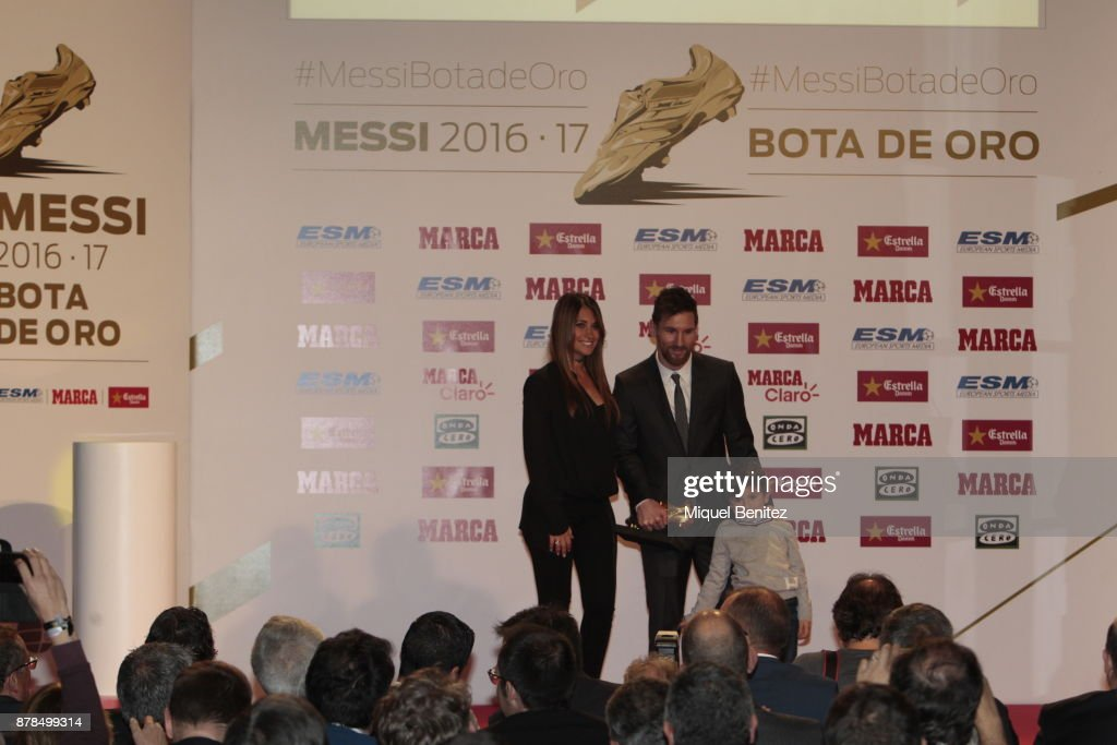 Golden Boot Gala In Barcelona