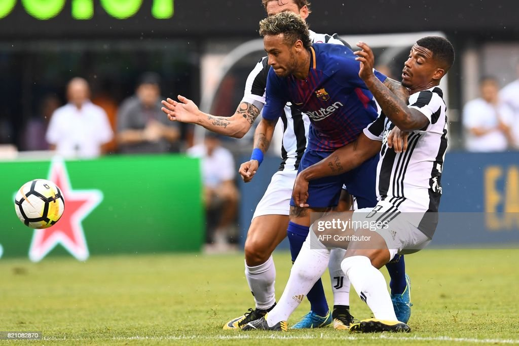 FBL-US-ICC-FC BARCELONA-JUVENTUS FC : News Photo