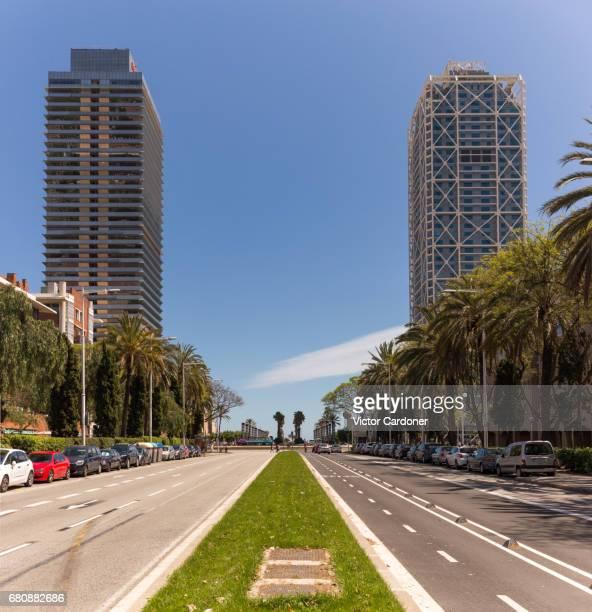 Barcelona's Twin Towers