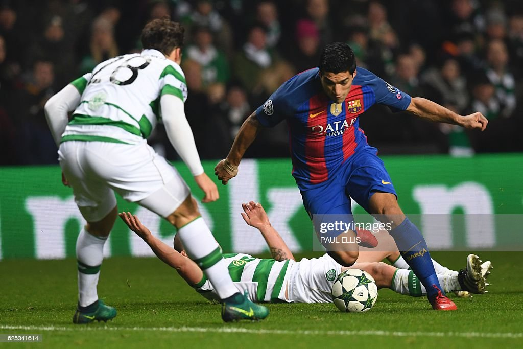 FBL-EUR-C1-CELTIC-BARCELONA : News Photo