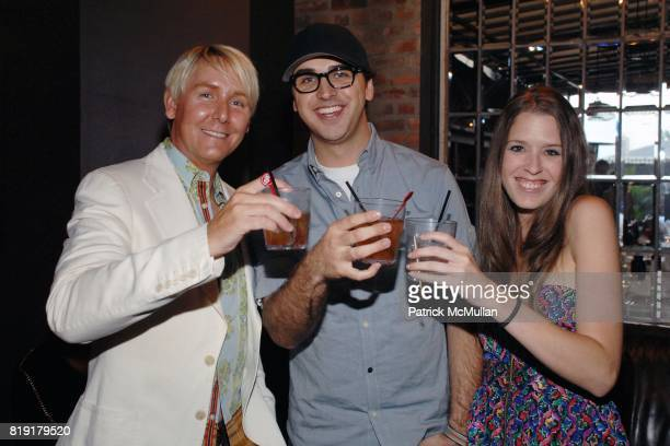 Barclay Butera Billy Diesel attend The Supper Club Shepard Fairey's SNO host a Bombay Sapphire Tea Party at The Tea Room on July 20 2010 in Hollywood...