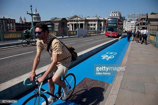 Barclays Cycle Superhighways are safe fast direct routes from outer London into central London Here the CS7 route at Southwark is one of the first...