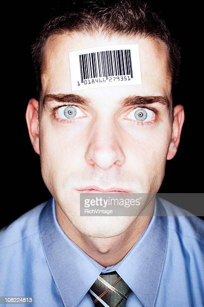 Barcode Businessman