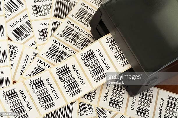 Barcode label Drucker