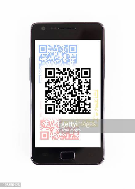 Barcode on mobile phone