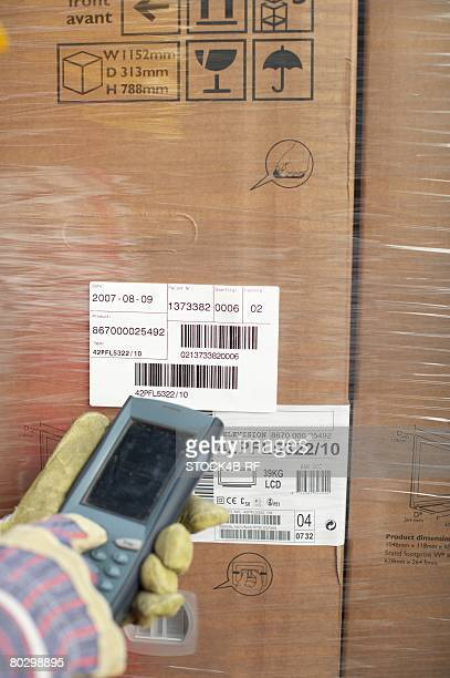 Barcode reading device