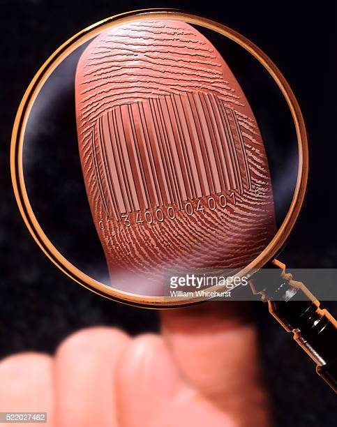 Barcoded Fingerprint