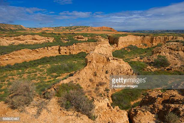 Bardenas Reales Natural Park Biosphere Reserve Navarre Spain