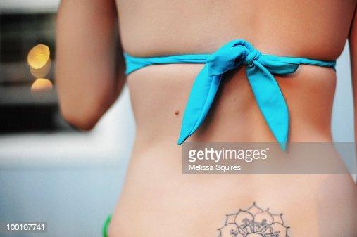Bare back : Stock Photo