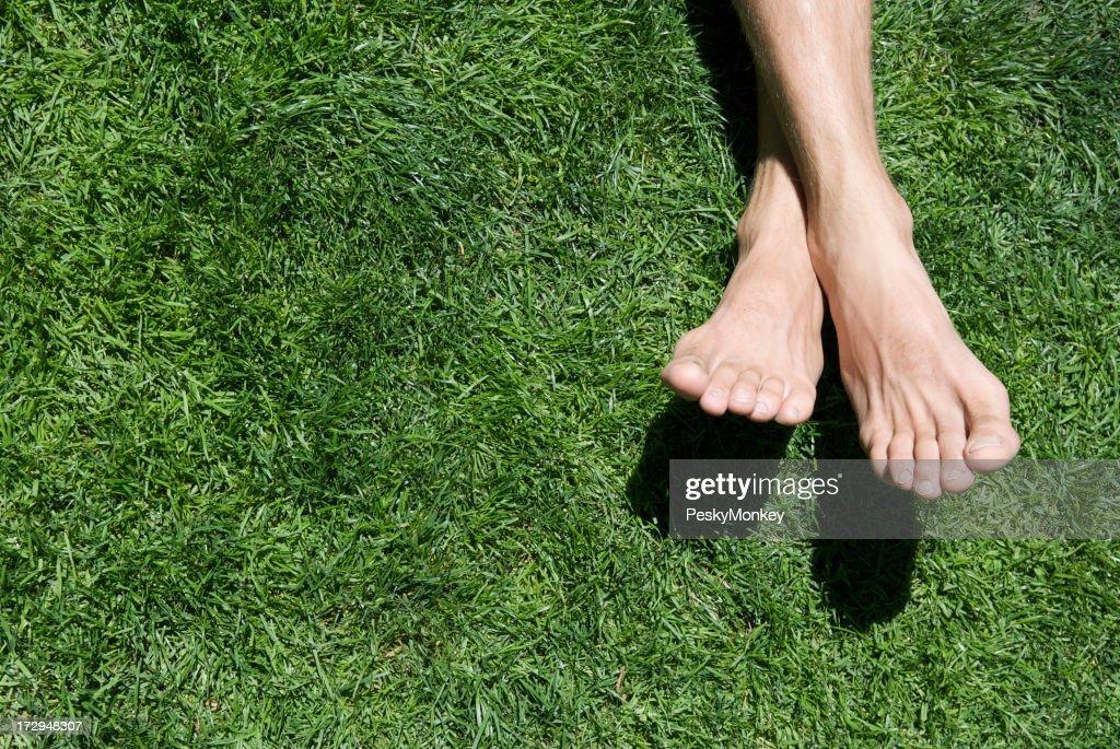 Bare Feet Green Grass