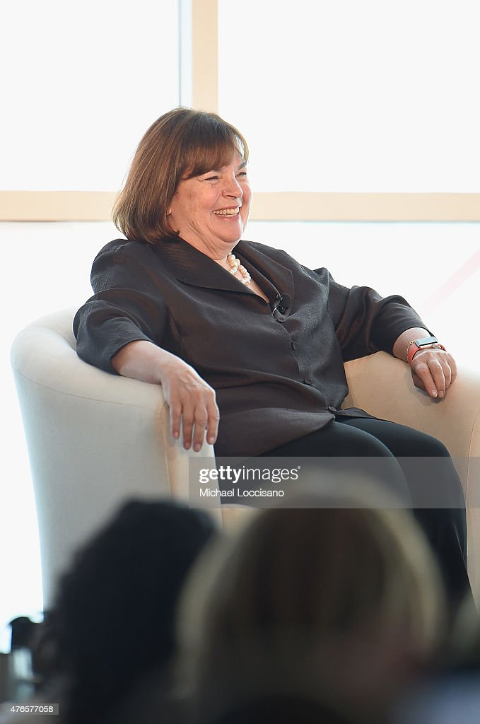 Barefoot Contessa host Ina Garten takes part in the 2015 Forbes Women's Summit: Transforming The Rules Of Engagement at Pier 60 on June 10, 2015 in New York City.