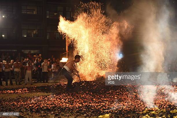 how to walk on fire coals