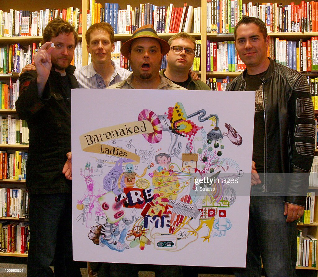 Barenaked Ladies during Barenaked Ladies Instore Signing and Performance at Borders September 19 2006 at Borders in Century City California United...