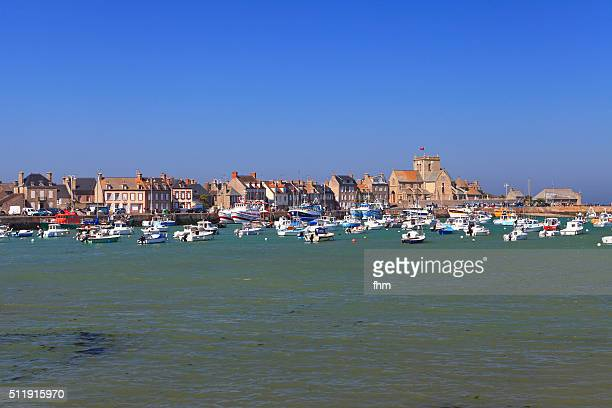 Barfleur - historic city with port in the normandy