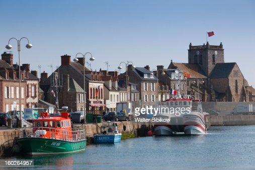 Barfleur, Normandy, Harbor View