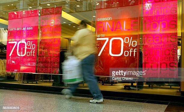 Bargain hunters out on Thursday the day after Christmas at the Northridge Fashion Center in Northridge some stores offering discounts of upto 75% One...