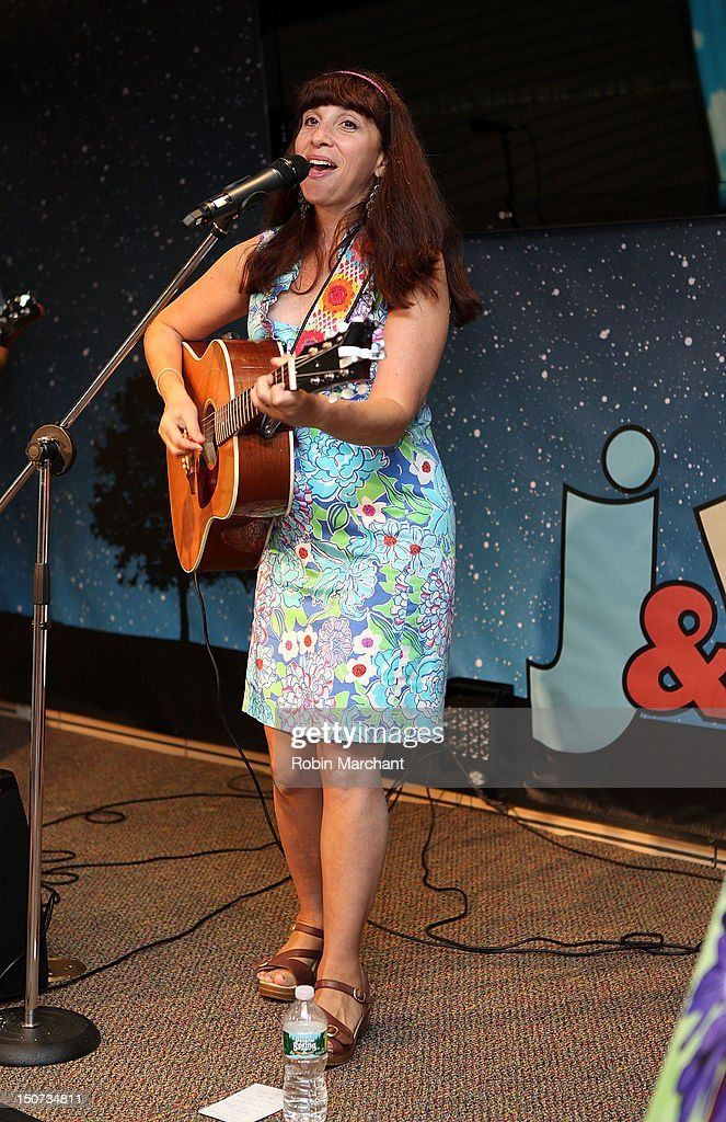 Bari Koral performs during J&R Music Fest 2012 at J&R Music and Computer World on August 25, 2012 in New York City.