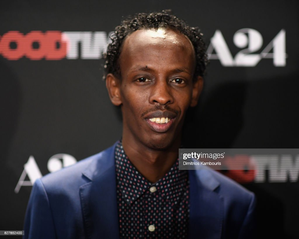 Barkhad Abdi attends 'Good Time' New York Premiere at SVA Theater on August 8, 2017 in New York City.