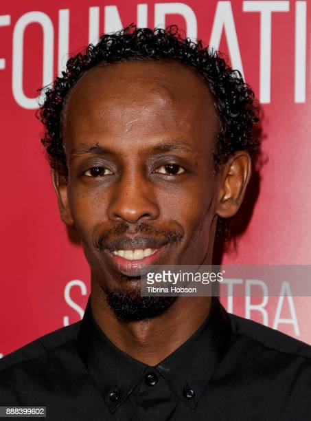 Barkhad Abdi attends SAGAFTRA Foundation's Conversation and screening of 'The Pirates Of Somalia' at SAGAFTRA Foundation's screening room on December...