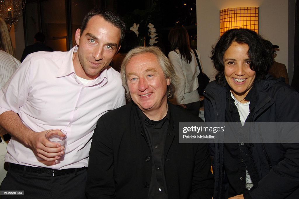Barlas Baylar, Steven Holl And Solange Fabiao Attend Hudson Furniture Inc.  ICFF Showroom Party