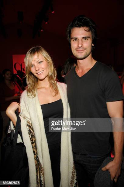Barlow and Kane Manera attend CHARLOTTE RONSON Spring/Summer 2010 at The Tents at Bryant Park on September 11 2009 in New York City