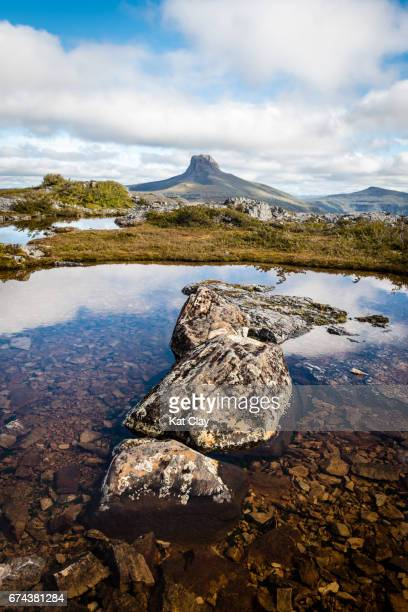 Barn Bluff on the Overland Track