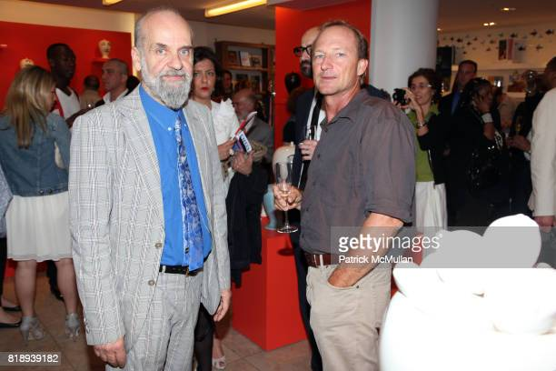 Barnaba Fornasetti and Aragron DickRead attend BARNEYS NEW YORK Celebrates FORNASETTI at Barneys on May 14 2010 in New York City