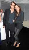 Barnaby Thompson and Christina Robert attend the IWC and Finch's Quarterly Review Annual Filmmakers Dinner at Hotel Du CapEden Roc on May 21 2012 in...