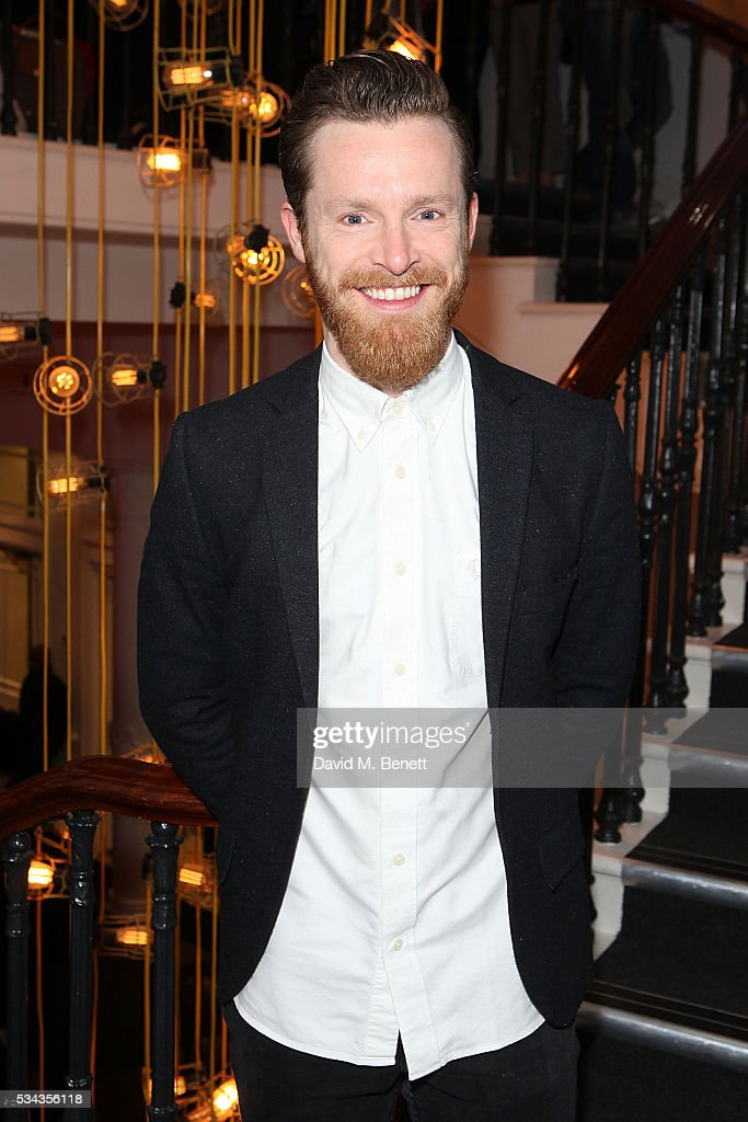 Barnaby Thompson attends the press night after party for 'Jekyll Hyde' at The Old Vic Theatre on May 25 2016 in London England