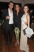 Barnaby Thompson Christina Robert and Talulah Riley attend as Charles Finch hosts his annual Filmmakers Dinner and photographic exhibition in...