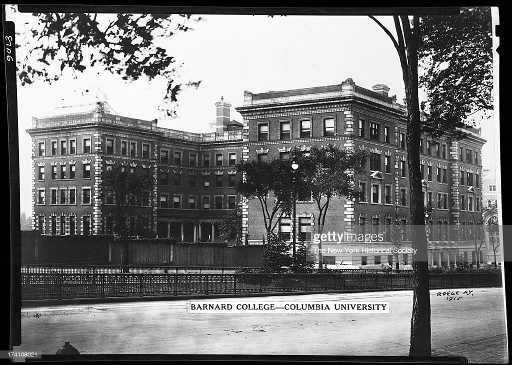 Barnard College Broadway west side 119th 120th Street New York New York 1915