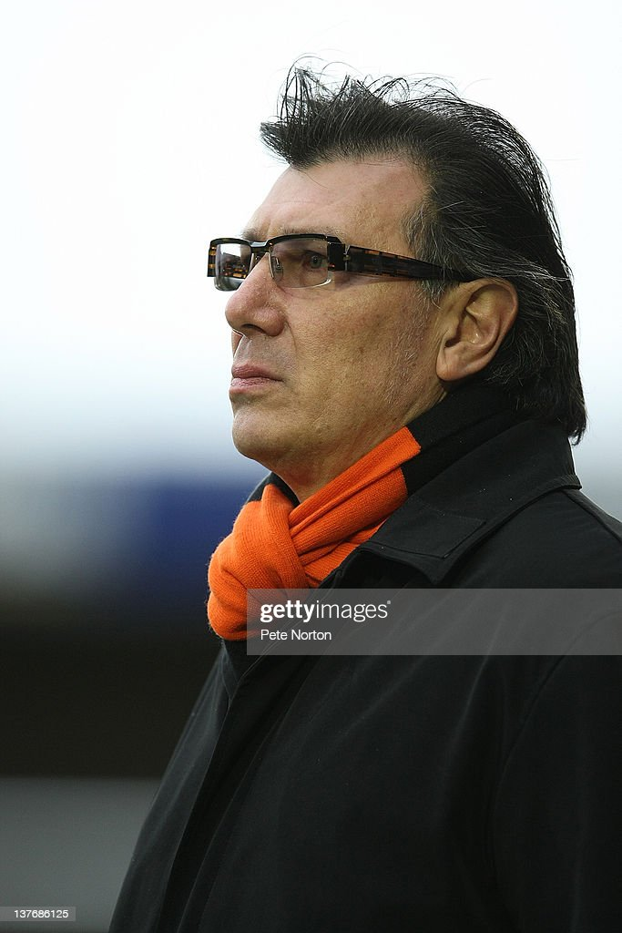 Barnet manager <a gi-track='captionPersonalityLinkClicked' href=/galleries/search?phrase=Lawrie+Sanchez&family=editorial&specificpeople=224832 ng-click='$event.stopPropagation()'>Lawrie Sanchez</a> looks on during the npower League Two match between Northampton Town and Barnet at Sixfields Stadium on January 21, 2012 in Northampton, England.