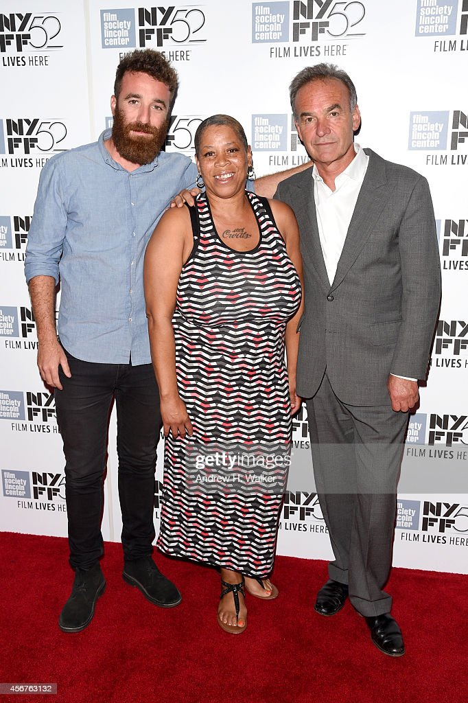 Barney Broomfield, Pam Brooks, and Nick Broomfield attend the 'Tales Of A Grim Sleeper' premiere during the 52nd New York Film Festival at Alice Tully Hall on October 6, 2014 in New York City.
