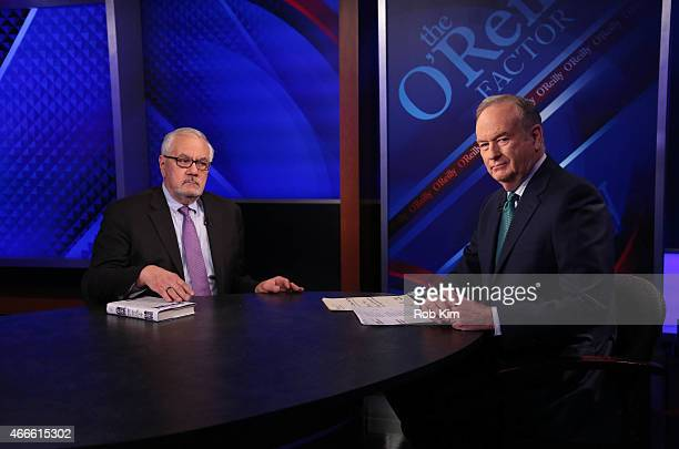 Barney Frank and Bill O'Reilly appear on 'The O'Reilly Factor' on The FOX News Channel at FOX Studios on March 17 2015 in New York City