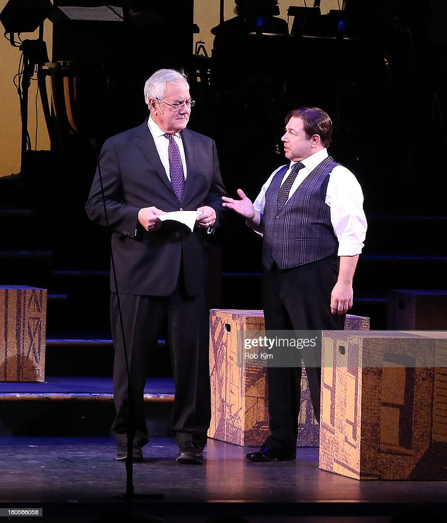 "Barney Frank Makes Stage Debut In ""Fiorello!"""