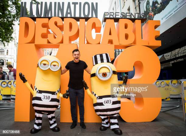 Barney Harwood attends the special screening of Despicable Me 3 at Odeon Leicester Square on June 25 2017 in London England