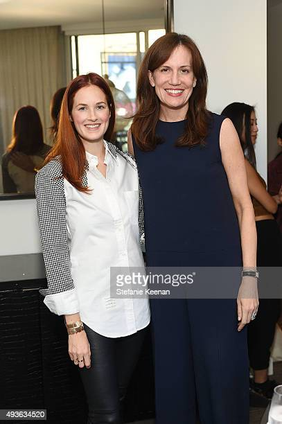 Barneys New York COO Daniella Vitale and Taylor Tomasi Hill attend W Hotels Barneys New York and the CFDA join Taylor Tomasi Hill in Hosting a Brunch...