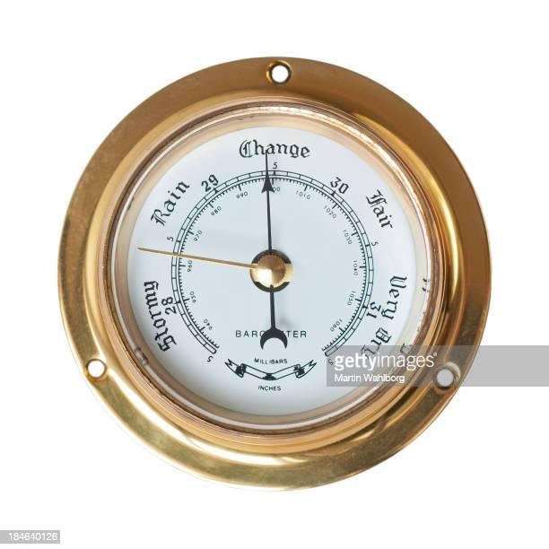 Barometer-Änderung in Wetter