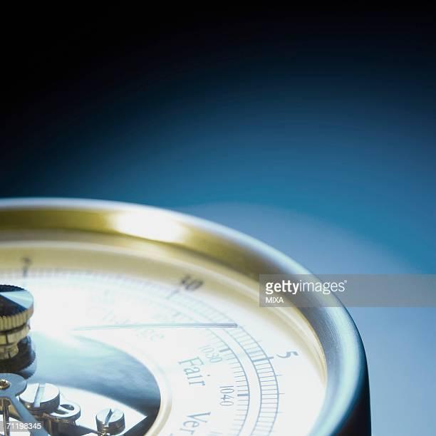 Barometer, close-up