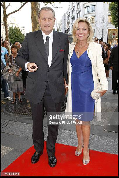 Baron and Baroness Gerard De Waldner at 'L'Affaire Farewell' Film Premiere And Charity Dinner To Benefit The Claude Pompidou Foundation