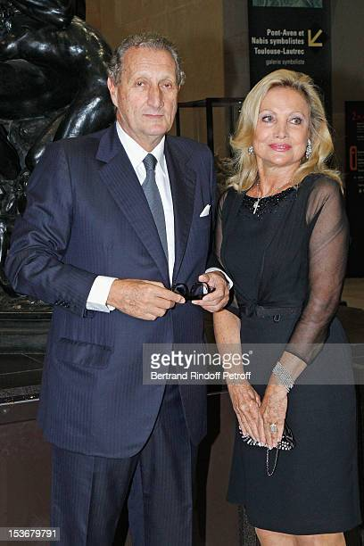 Baron and Baroness Gerard Waldner at Musee d'Orsay on October 8 2012 in Paris France